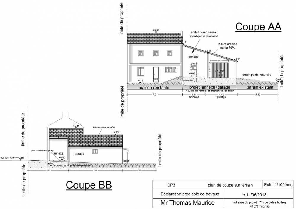 Permis de construire Guérande - Maison, Extension, Garage, Véranda