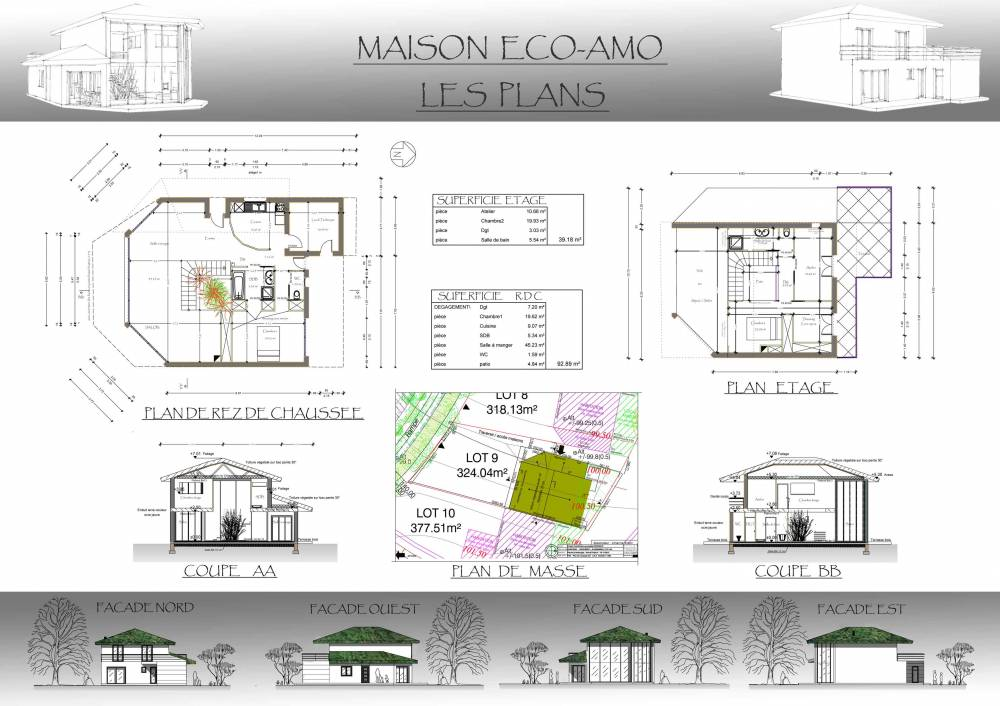 Conception de plan maison individuelle