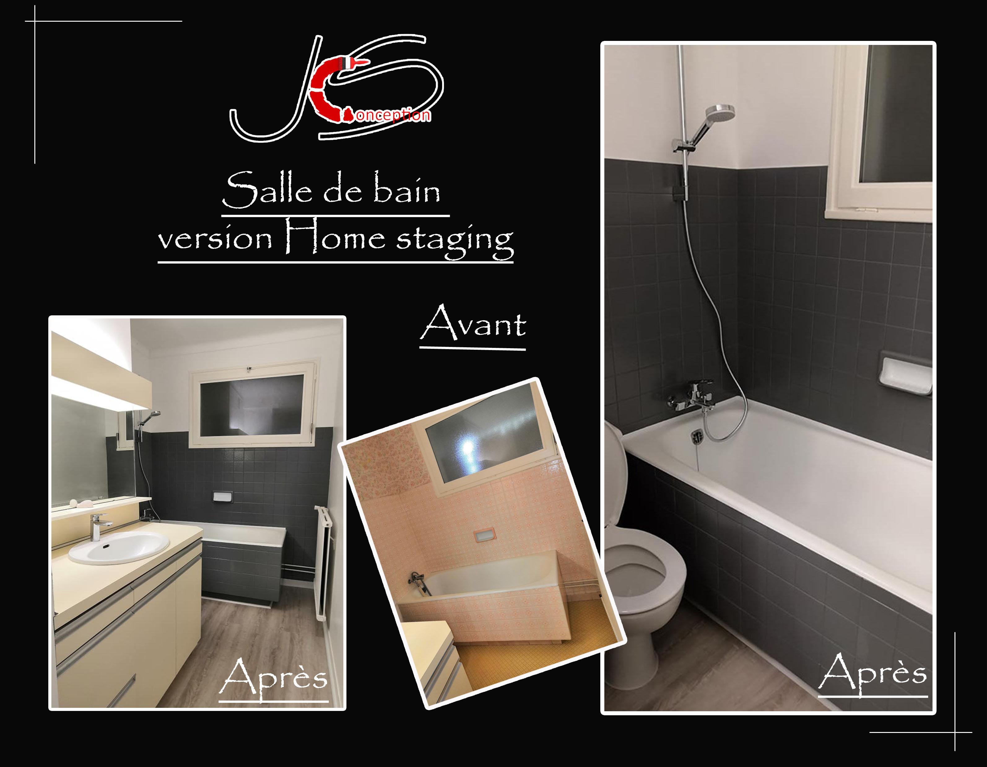 salle de bain home staging la baule projet rénovation