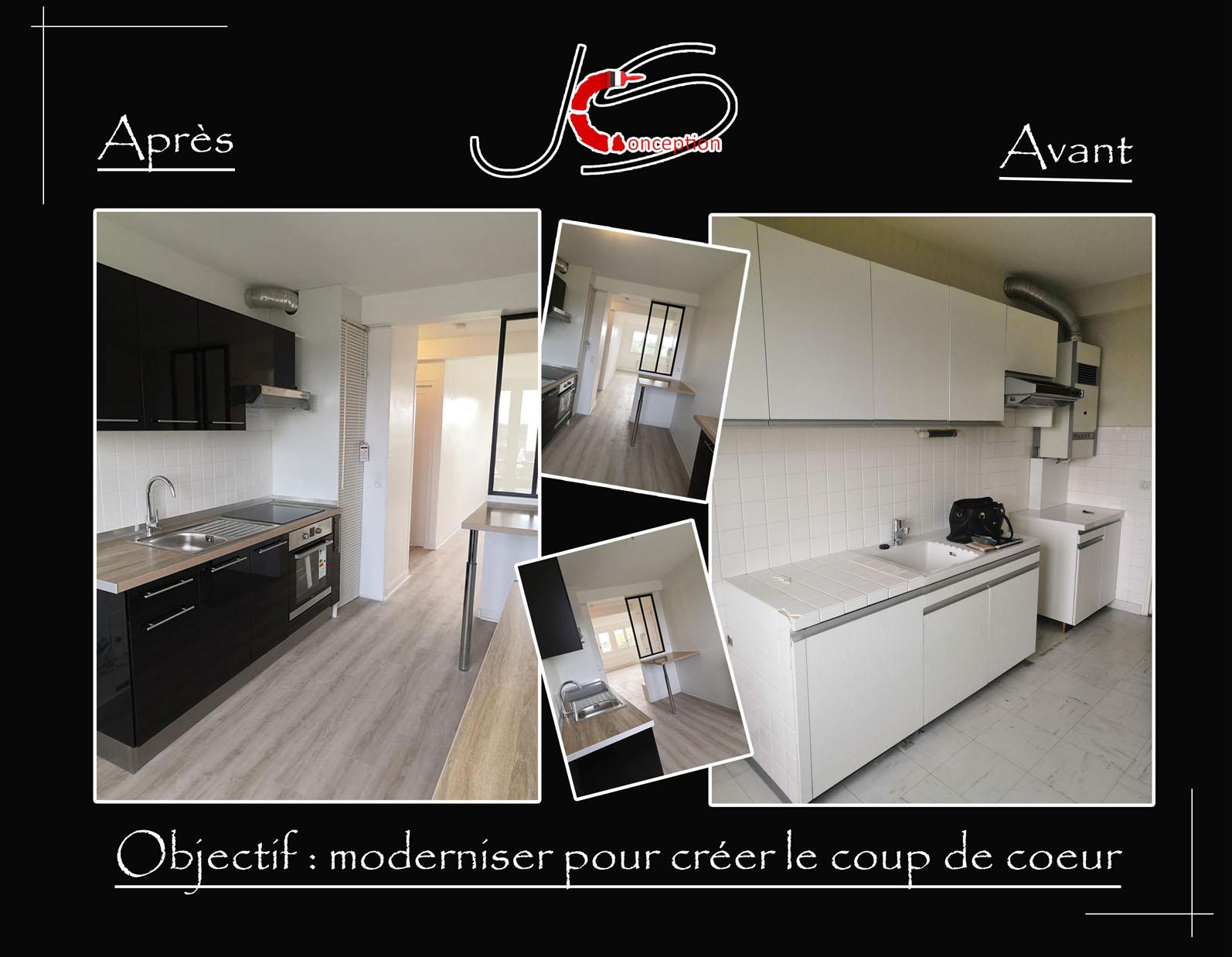projet rénovation appartement la baule