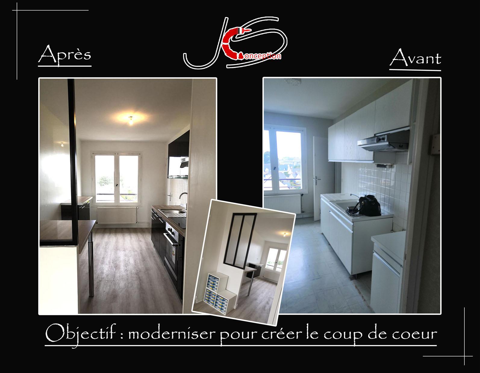 projet renovation appartement la baule