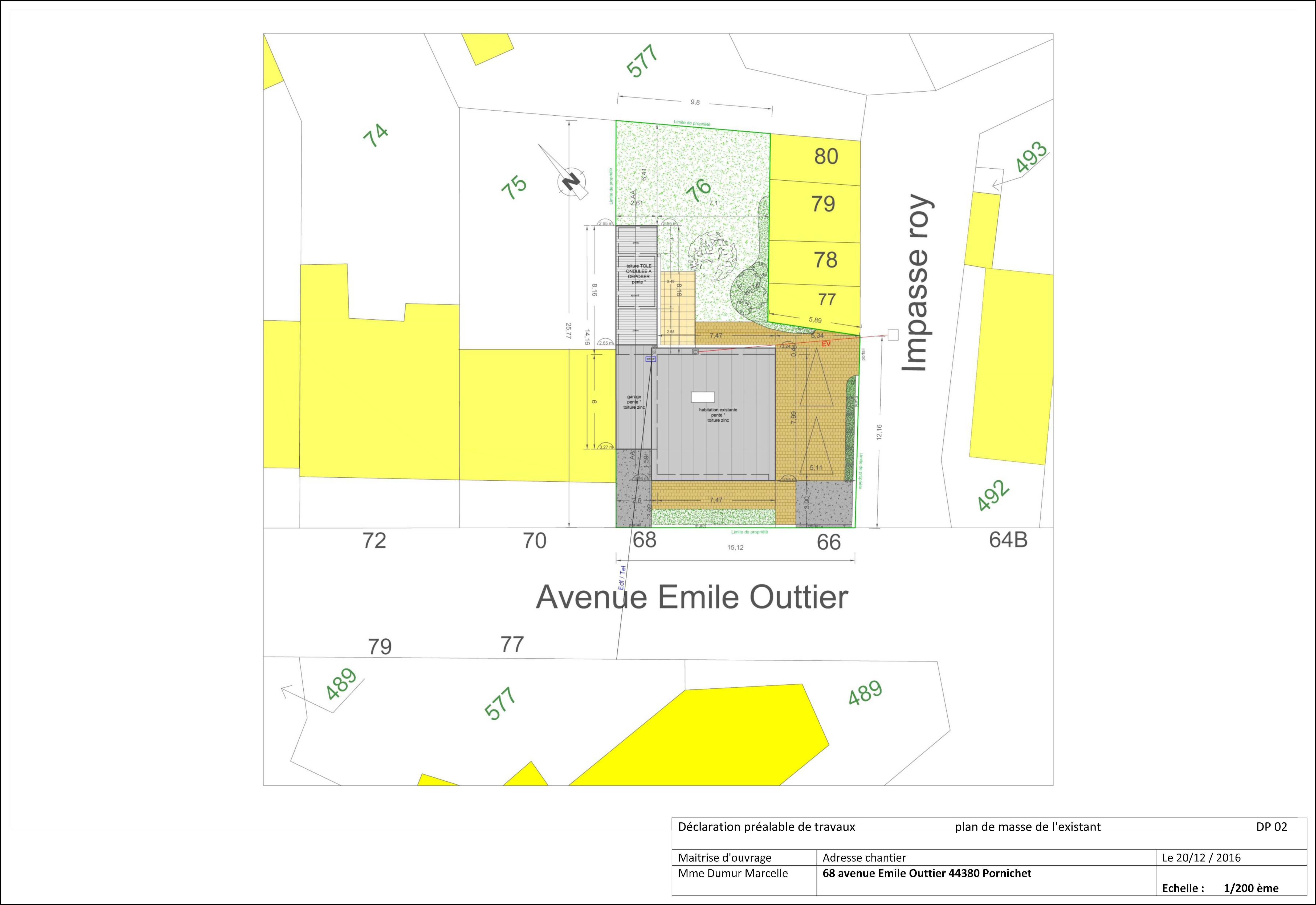 Exemple Devis Home Staging question d'urbanisme : que doit contenir le plan de masse ?