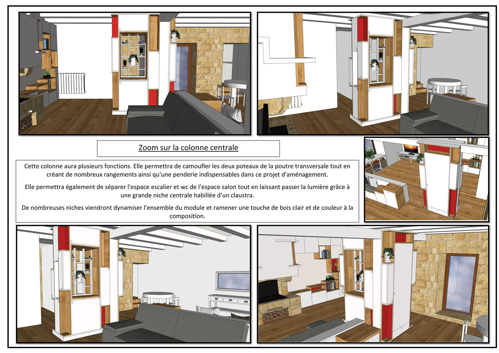 projet aménagement 3 D